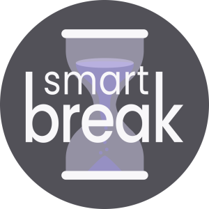 Smart Break Logo - Hourglass Icon